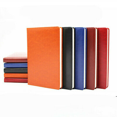 A5 Journal Notebook Notepad PU Leather Ruled Lined Planner Diary 120 Sheets