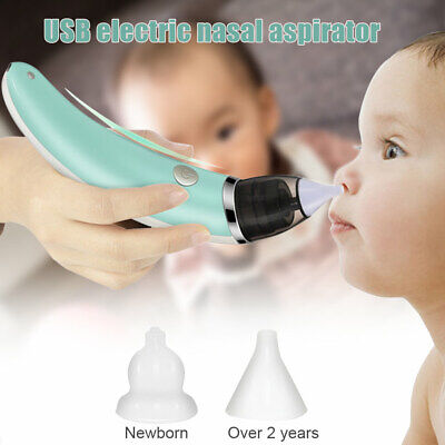 Electric Baby Nasal Aspirator Safe Hygienic Booger Cleaner For Infant Toddler