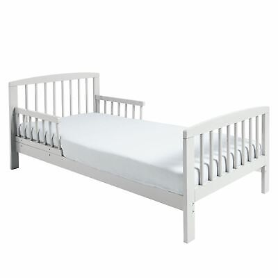 Kinder Valley Toddler Bed Classic Wooden Durable Kids Junior White 18 months +