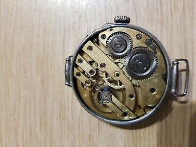 Old wristwatch. Work