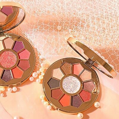 Shimmer Matte Eyeshadow Plate11 Colors Sequin Shining Eye Shadow Makeup Beauty