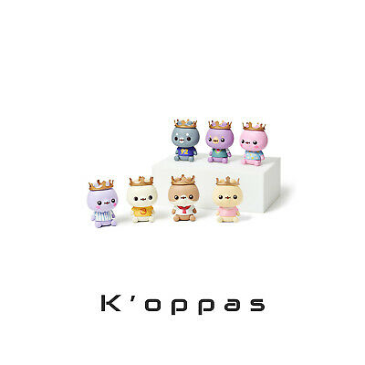 TWOTUCKGOM X MONSTA X Sitting Mini Figure Official KPOP Goods Toy New Release