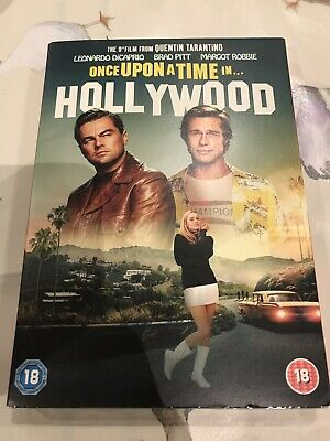 Once Upon A Time In Hollywood Dvd New&sealed Quentin Tarantino