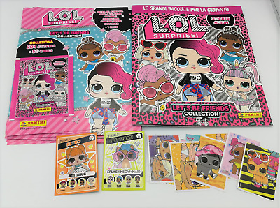 LOL SURPRISE LET'S BE FRIENDS COLLECTION ALBUM 6 BUSTINE STICKERS PANINI L.O.L