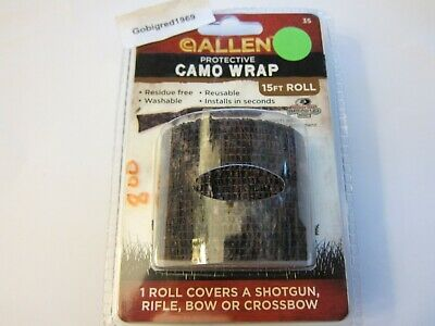 3x Hunter Camo Wrap Tape Shotgun Rifle Bow Crossbow Protective 15FT Conseal Roll
