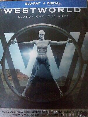 Westworld: The Complete First Season (Blu-ray Disc, 2017) SEE DETAIL!!!