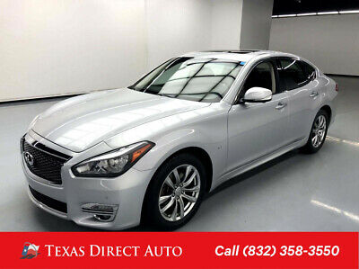 2018 Infiniti Q70 3.7 LUXE Texas Direct Auto 2018 3.7 LUXE Used 3.7L V6 24V Automatic RWD Sedan Bose