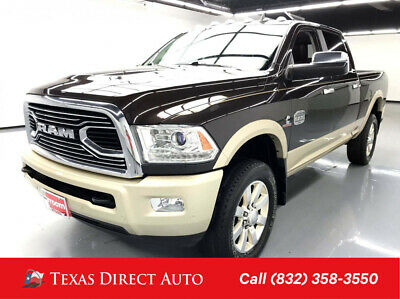 2017 Ram 2500 Longhorn Texas Direct Auto 2017 Longhorn Used Turbo 6.7L I6 24V Automatic 4WD Pickup