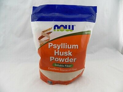 Now Foods Psyllium Husk Powder Dietary Fiber 24 oz Intestinal Health Free Ship!
