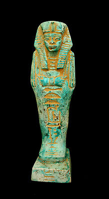 Osiris Statue Egyptian God Ancient Figurine Afterlife Antique Egypt hieroglyphic