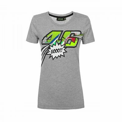 Valentino Rossi VR46 Moto GP Pop Art The Doctor Women's T-shirt Official 2019