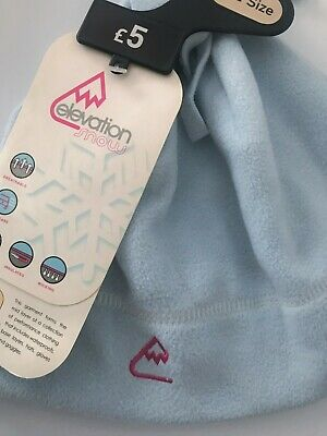 """BRAND NEW Women & Girls SKI Hat """"ELEVATION SNOW"""" WITH TAGS-One SIZE Fits All"""