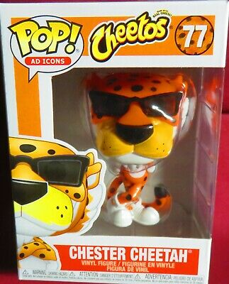"Brand New Pop ""Icons"",  Ad Icons, #77, ""Cheetos""  Chester Cheetah       In Hand"