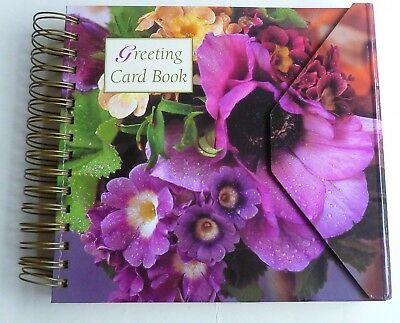 Greeting Card Book 22 Cards - ONLY TWO CARDS BEEN USED