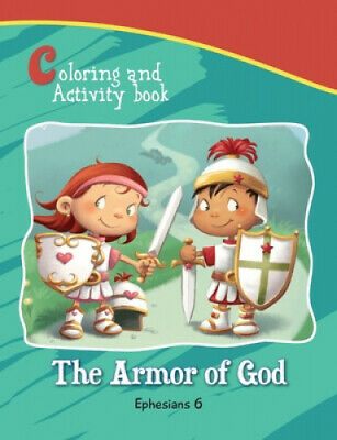 Ephesians 6 Coloring and Activity Book: The Armor of God (Bible Chapters for
