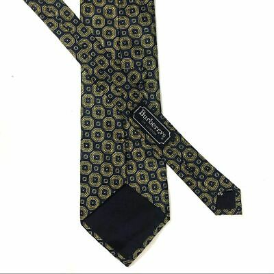 Burberry's of London Vintage Navy & Gold Tie