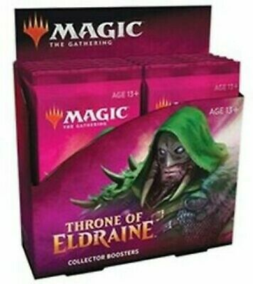 Throne of Eldraine Collector Booster Box Sealed Magic: the Gathering MTG