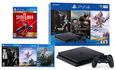 NEW PlayStation 4 1TB Ultimate Bundle Only on PlayStation PS4+ Marvel SpiderMan