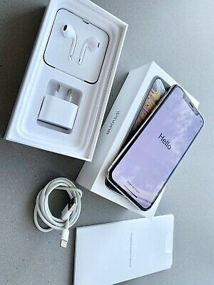 Apple iPhone XS - 256 GB - Silver (Unlocked) A2097 **EXCELLENT CONDITION**