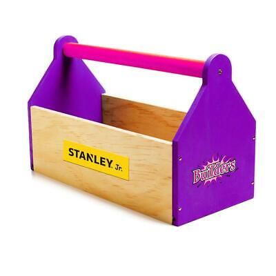 Stanley Jr Toolbox Kit Tool Box Kids Play Pretend Toy Gift Work Playset Imagine