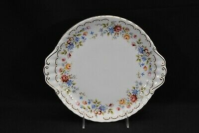 Royal Albert Jubilee Rose Handled Cake Plate