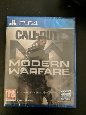 Call of Duty Modern Warfare (PS4) Game | BRAND NEW SEALED | FAST FREE POST