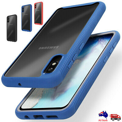 For Samsung Galaxy A10e Note 10 + Plus Clear Hybrid Bumper Shockproof Case Cover
