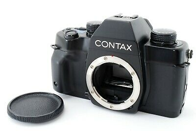 【N MINT!!】 Contax ST 35mm SLR Film Camera Body Only w/ Data Back from Japan