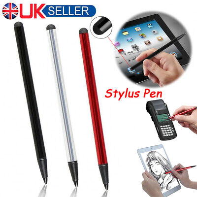 Thin Capacitive Touch Screen Pen Stylus For iPhone IPad/Samsung Phone Tablet UK
