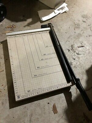 guillotine - paper cutter. Super sharp. Precise. Hardly used