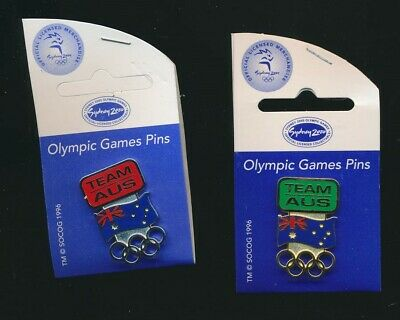 Australia: 2000 Sydney Olympic Aussie Team Pin Pair