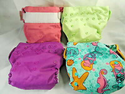 Bum Genius All in One Cloth Diapers Set of 4