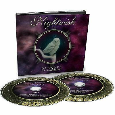 Nightwish Decades Live In Buenos Aires (Digipack) 2 Cd Nuovo & Sigillato