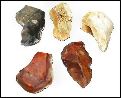 Mousterian paleolithic 5 prehistoric tools points levallois British neanderthal
