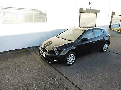 14 Seat Leon 1.6TDI CR SE Damaged Salvage Repairable £0 Tax!
