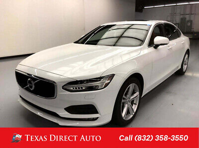 2018 Volvo S90 Momentum Texas Direct Auto 2018 Momentum Used Turbo 2L I4 16V Automatic FWD Sedan