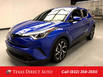 2018 Toyota C-HR XLE Texas Direct Auto 2018 XLE Used 2L I4 16V Automatic FWD SUV