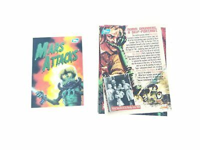 Mars Attacks 1994 Topps COMPLETE Trading Cards 100 #0 1-99 w/ Protective Case