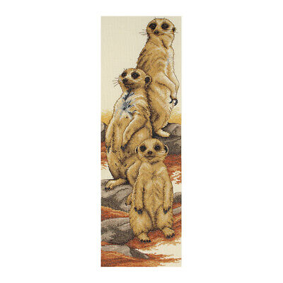ANCHOR | Counted Cross Stitch Kit: Meerkat - Wall Hanging | PCE772