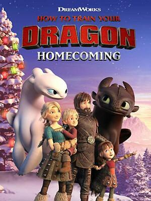 How to Train Your Dragon Homecoming DVD R4 New Sealed
