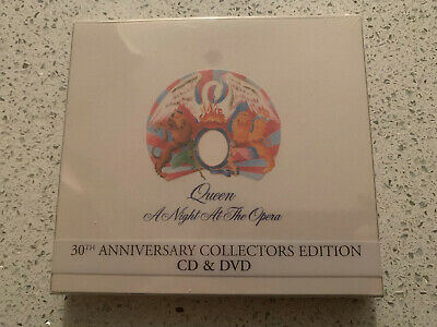 Queen - A Night At The Opera - 30th Anniversary Collectors Edition - CD & DVD