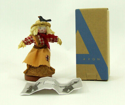 Vintage Avon Home Fragrance Collection Mrs Scarecrow Hot Apply Pie Scent Figure