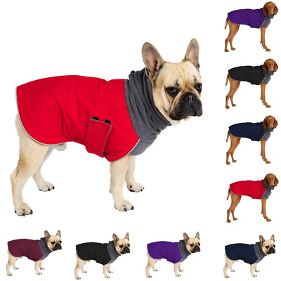Winter Dog Coat Winter Clothes Neck Warmer Dog Snood Clothes for Small Large Pet