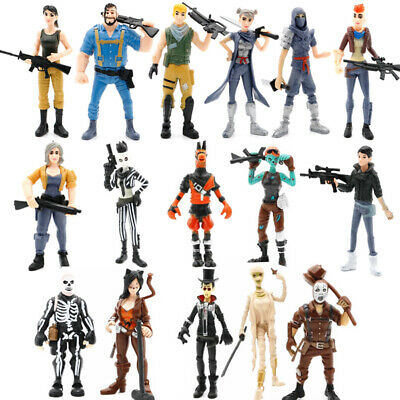 8 Piece Fortnite Character Action Figure Xbox PS4 PC Fashion Table Decor Toy