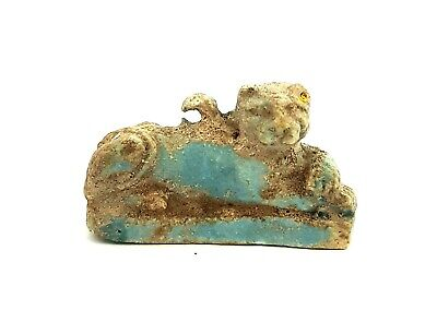 Seckmet Amulet Egyptian Statue Lioness Goddess Figurine Ancient Sculpture Egypt
