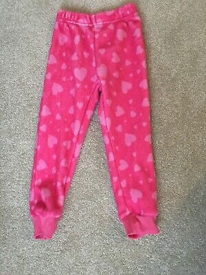 Peppa Pig Girl Bottoms Pink With Light Pink Hearts Size 4 Years