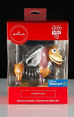 New Hallmark Disney Pixar Toy Story 4 Slinky Dog Christmas Tree Ornament Walmart