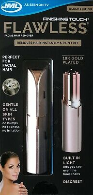 Finishing Touch FLAWLESS 18K Gold Plated Facial Hair Remover - Blush Edition