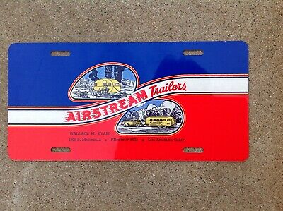 Airstream Trailers - Booster - License Plate