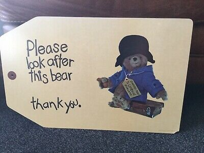Paddington Bear Rare Melamine Wipe Clean Chopping Serving Board Taunton Vale
